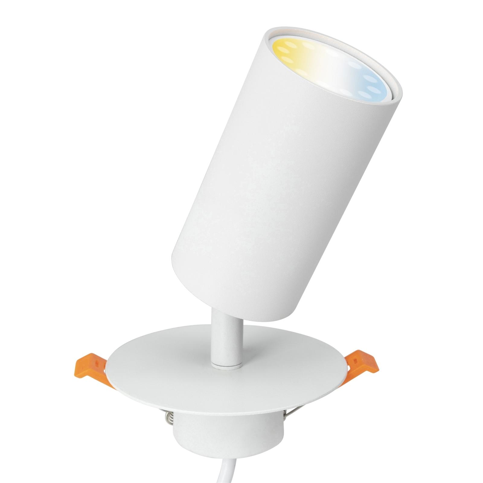 Brilliant White Jez DIY Plug-In Smart Wi-Fi LED Spotlight