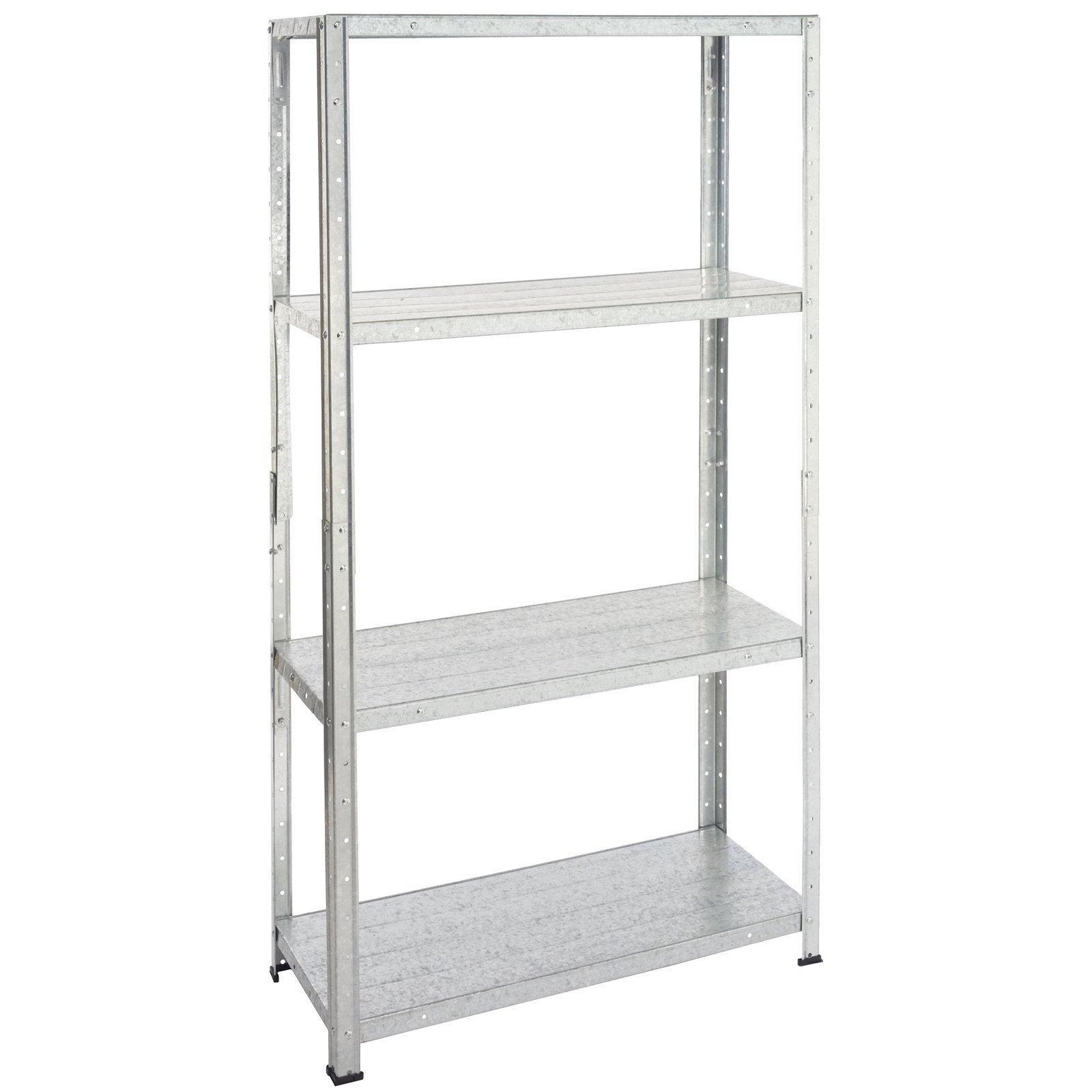 Handy Storage 20 x 20 x 20.20cm Galvanised 20 Shelf Unit   Bunnings ...
