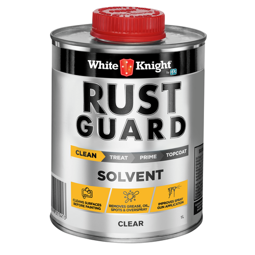 White Knight Rust Guard Solvent Cleaner Paint Thinner - 1L