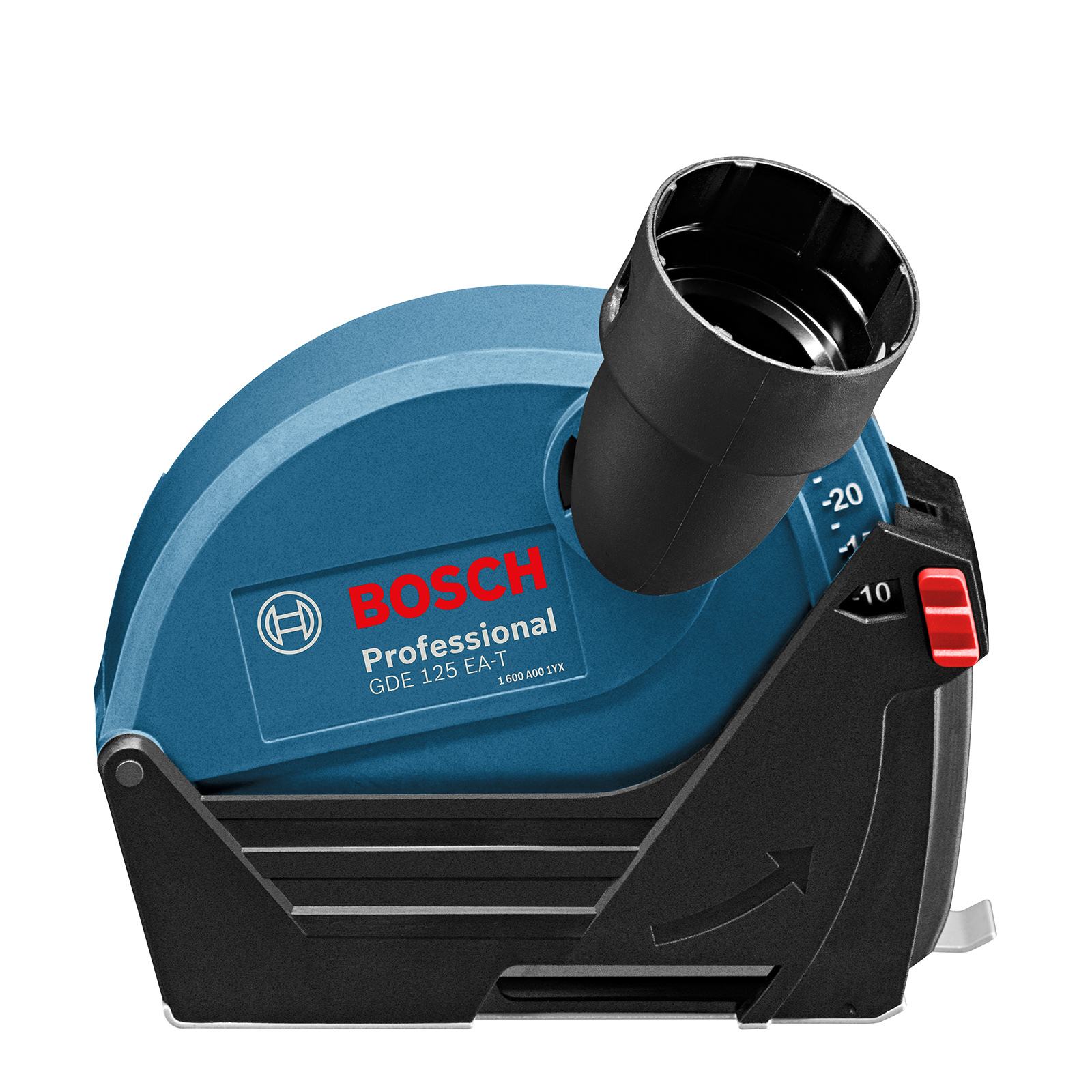 Bosch Blue 125mm GDE 125 EA-T Dust Extraction Cutting Guard For Angle Grinders