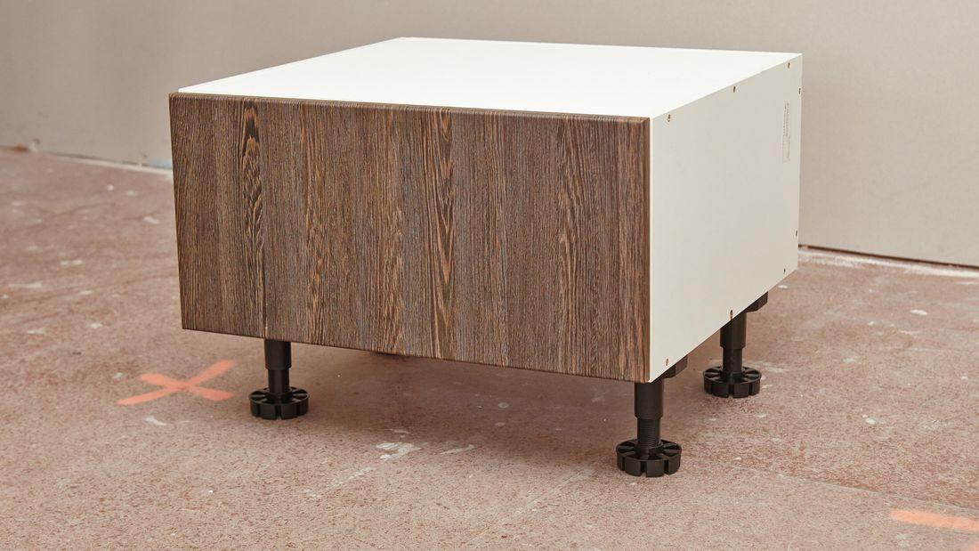 Single drawer cabinet.