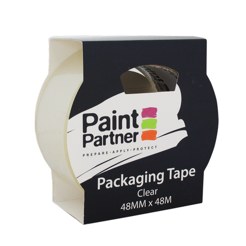 Paint Partner 48mm x 48m Clear Packing Tape
