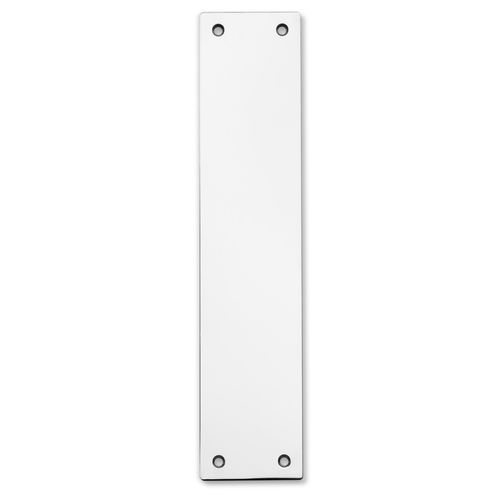 Lemaar 250 x 65 x 2mm Satin Stainless Steel Push Plate