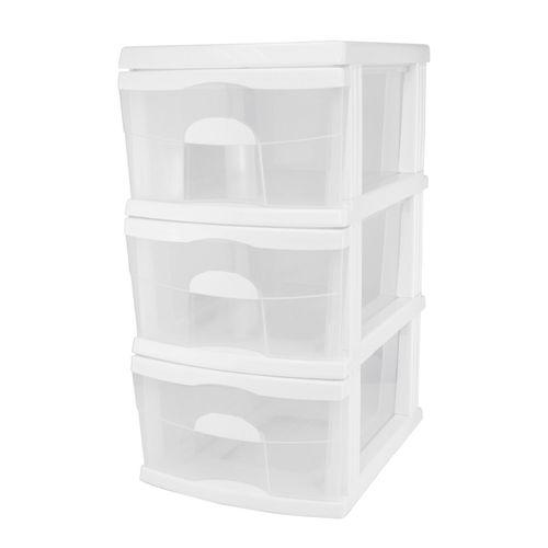 Taurus 3 White A3 Storage Drawers
