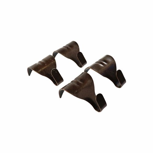 Everhang 24mm Florentine Bronze Moulding Hooks - 4 Pack