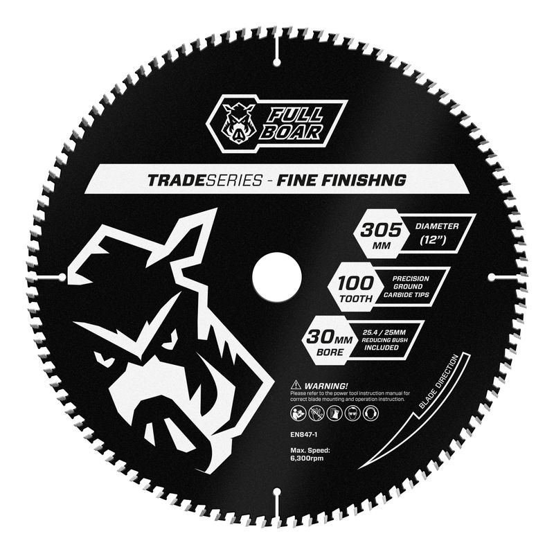 305mm 100t Trade Series Mitre Saw Blade