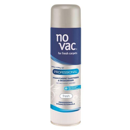 No Vac 549ml Fresh Professional Carpet Cleaner