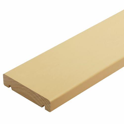 135 x 30mm H3.1 Pre Primed Finger Jointed Pine Fascia - Per Linear Metre