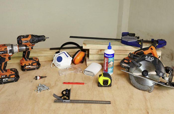 DIY Step Image - How to make a D.I.Y. bike rack . Blob storage upload.