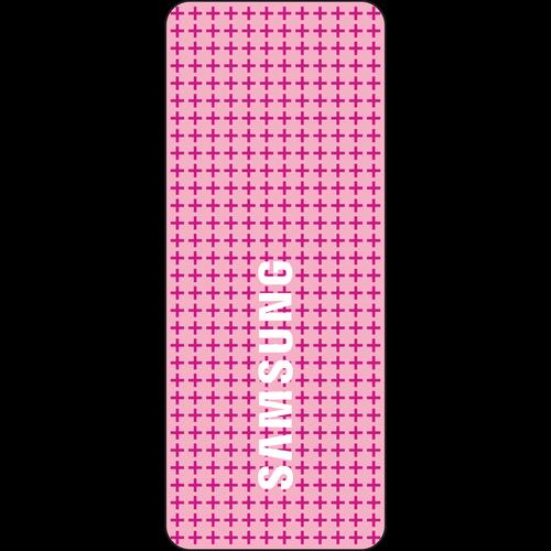 Samsung Pink Plastic Cased RFID Key Tag