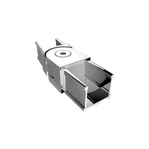 Architects Choice Mirror Polish Stainless Steel Friction Fit Handrail Swivel Joiner