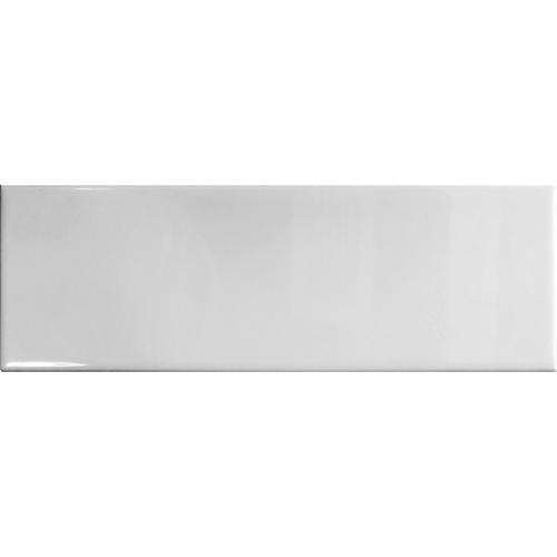 Duratile 10 x 30cm 1.02sqm White Gloss Subway Ceramic Wall Tile - Carton 34