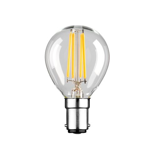 Luce Bella 4W 470lm Warm White Fancy Round LED SBC Globe