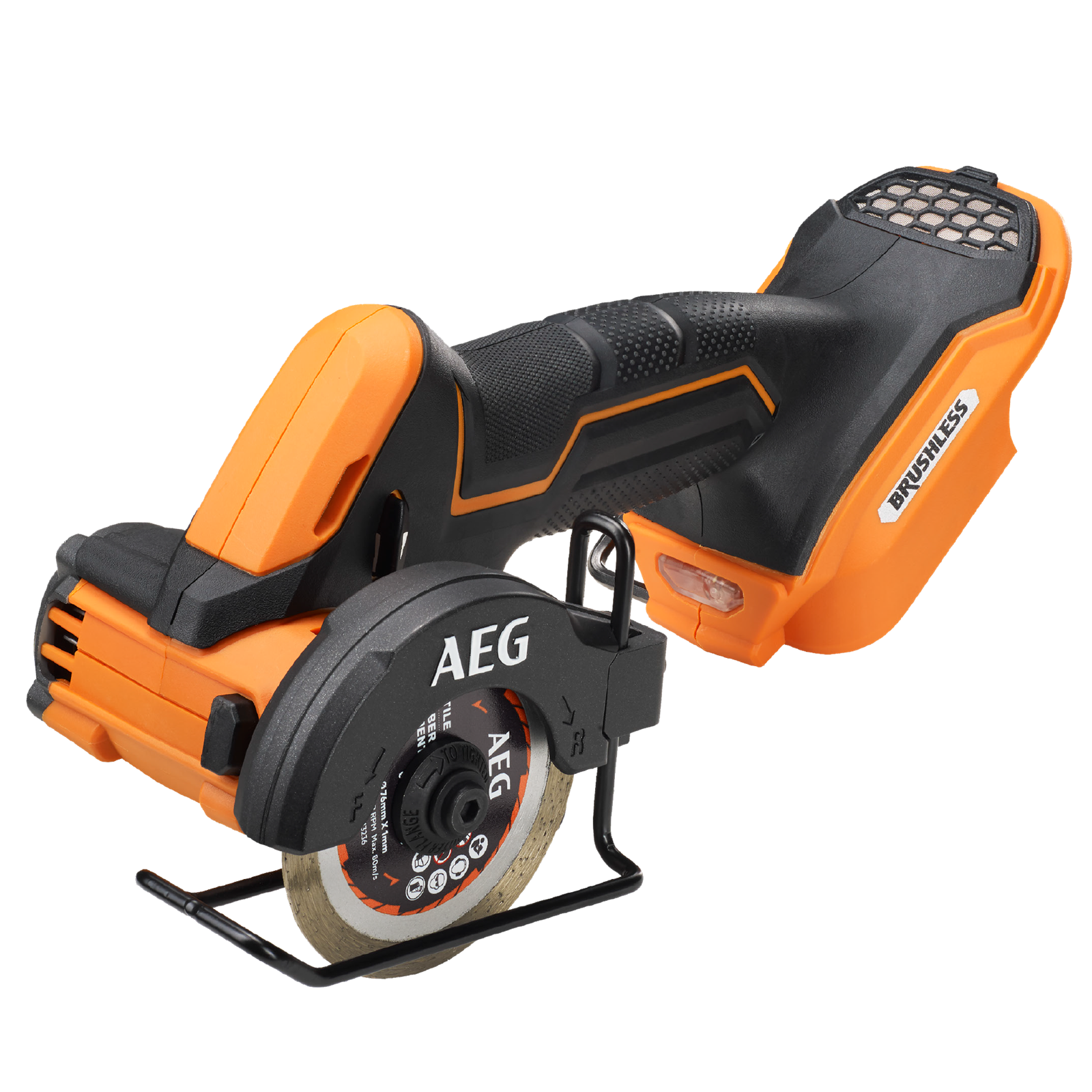 """AEG 18v 3"""" Brushless Sub Compact Cut Off Tool - Skin Only"""