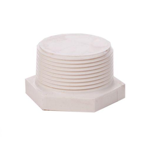 Marley 25mm White PVC Threaded End Plug