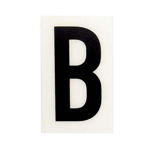 Sandleford 85 x 55mm B White Self Adhesive Letter