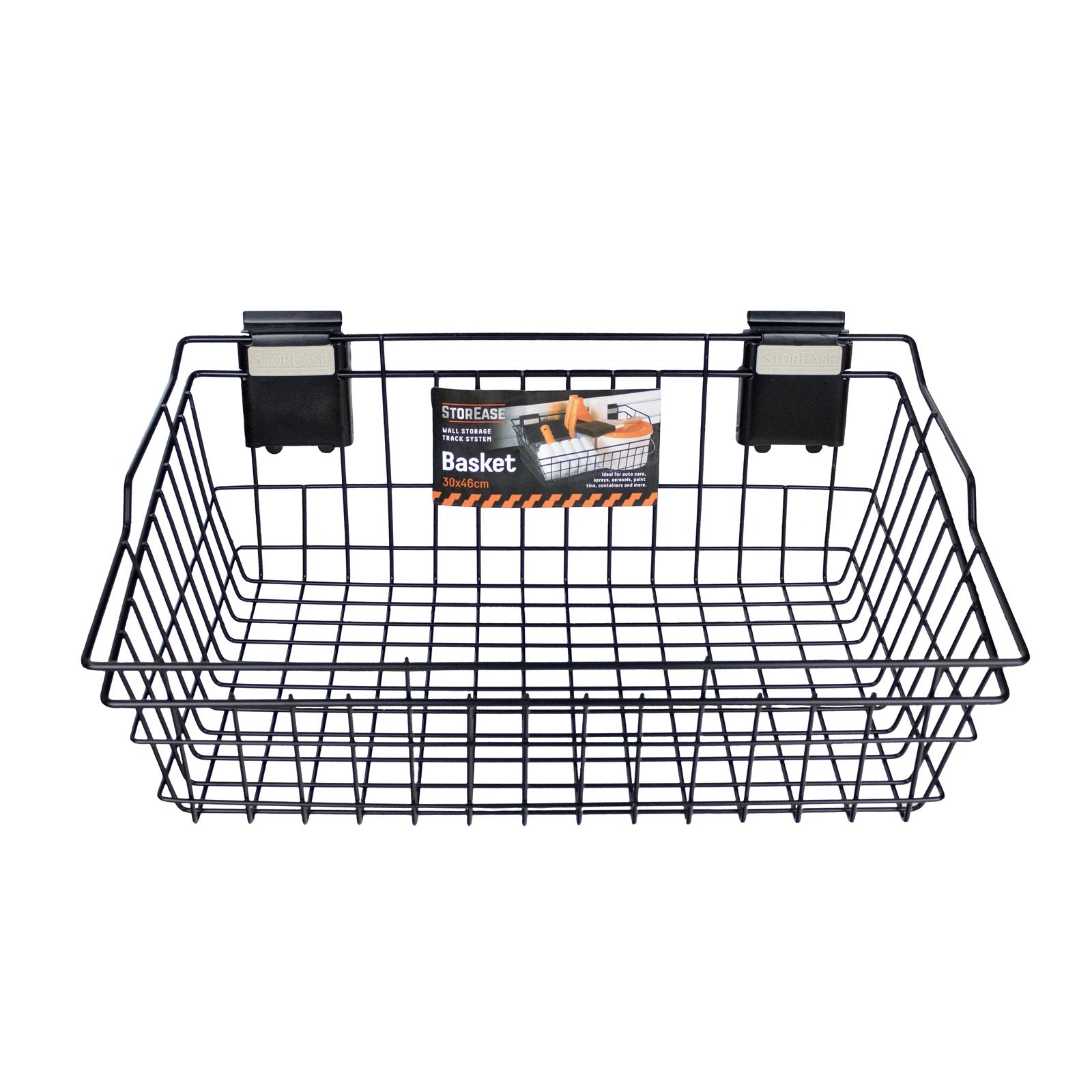 StorEase 30cm x 46cm Garage Wall Storage Basket