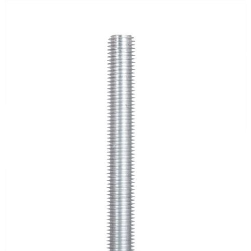 Oxbuild M10 x 1m Zinc Plated Threaded Rod