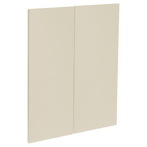 Kaboodle Modern Corner Wall Cabinet Door - 2 Pack - Mocha Latte