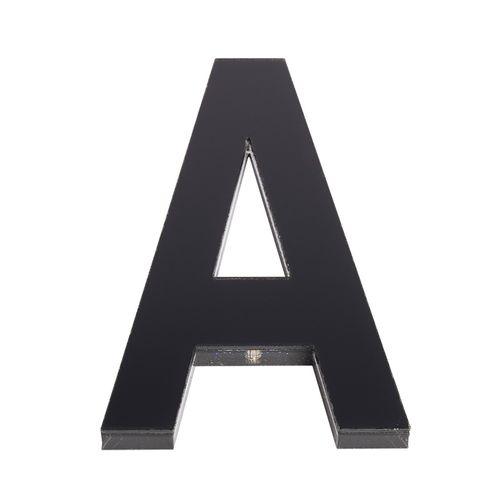 Sandleford 120mm A Black Acrylic Letter
