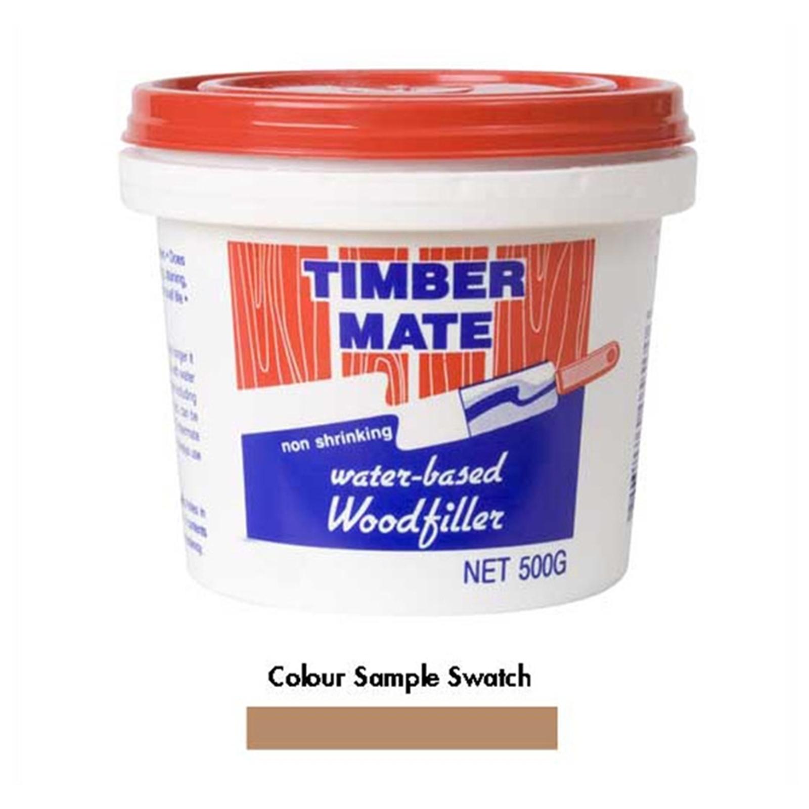 Timbermate Interior Woodfiller 500g Rimu