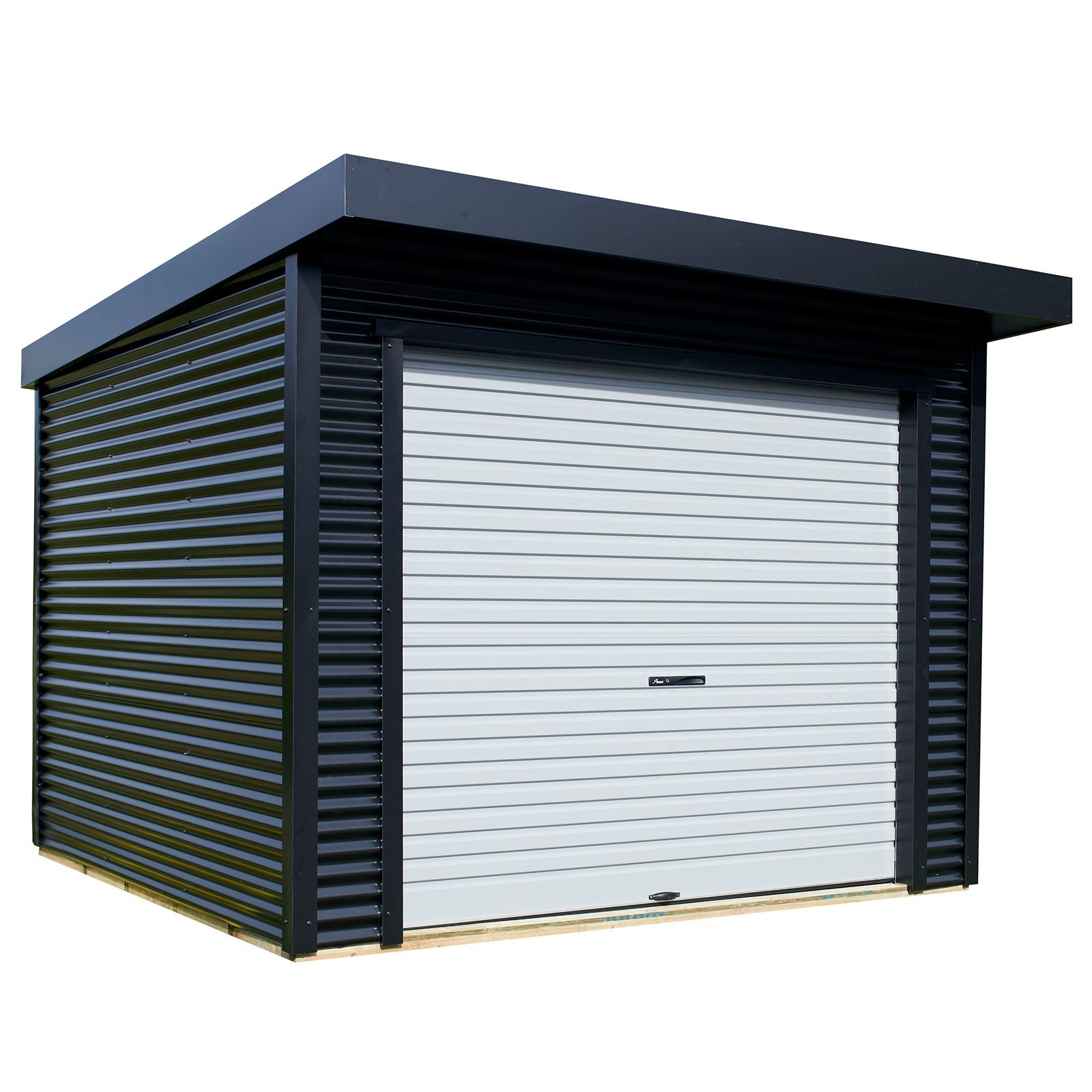 Duratuf 3.15 x 3.15m Lifestyle Marlborough Pre Painted Steel Shed