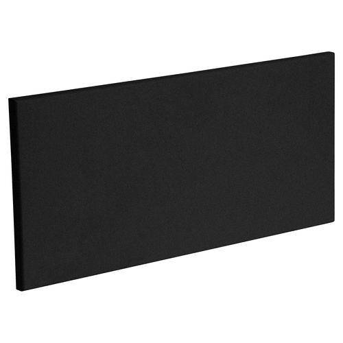 Kaboodle 600mm Modern 1 Drawer Panel - Luminess Metallic