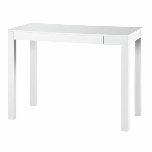 Groove Austin Scandi 1 Drawer Laptop Student Study Desk Computer Home Office Table