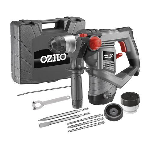 Ozito 900W SDS+ 3J Rotary Hammer Drill Kit