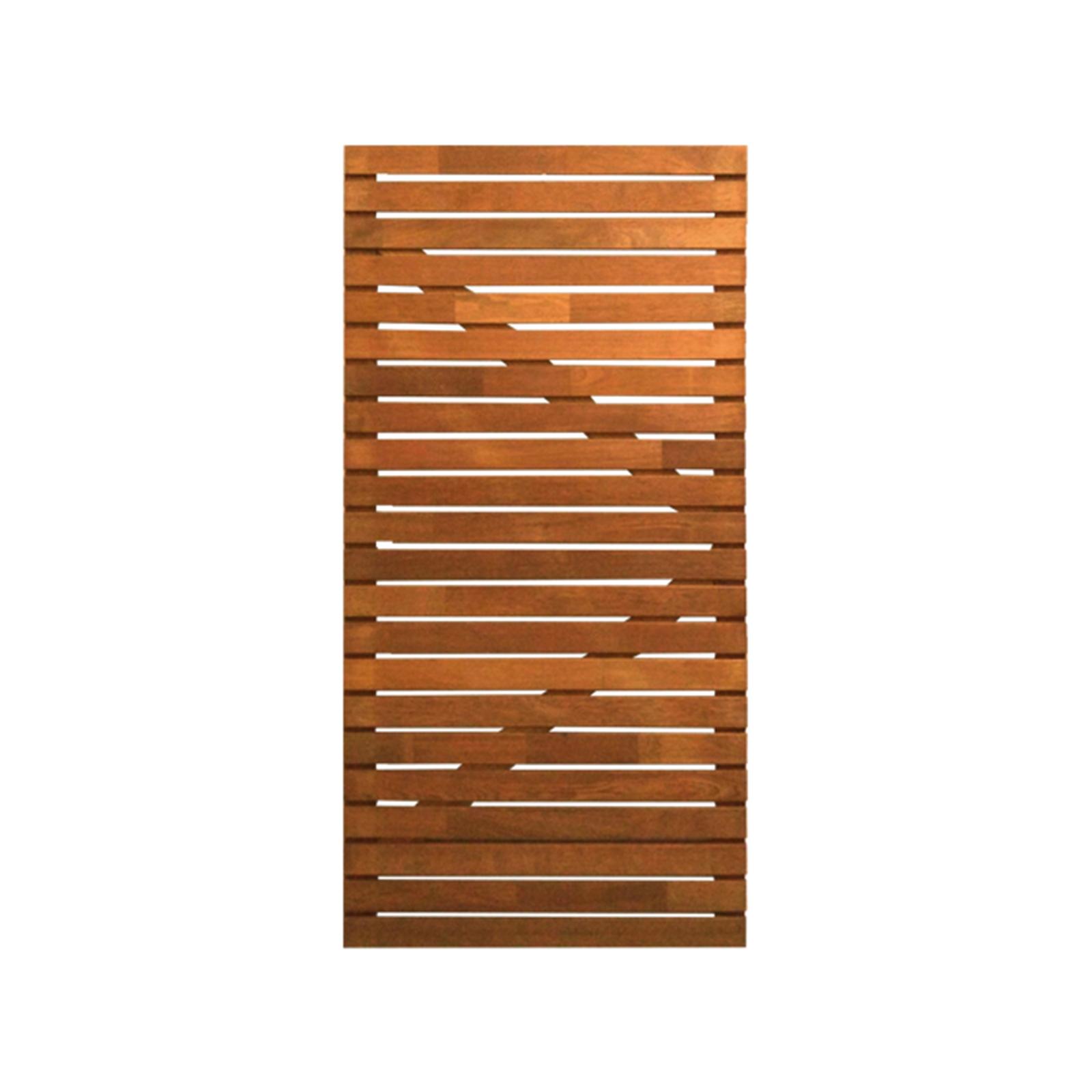 SpecRite 1833 x 900mm Merbau Pre-Oiled Horizontal Slat Gate