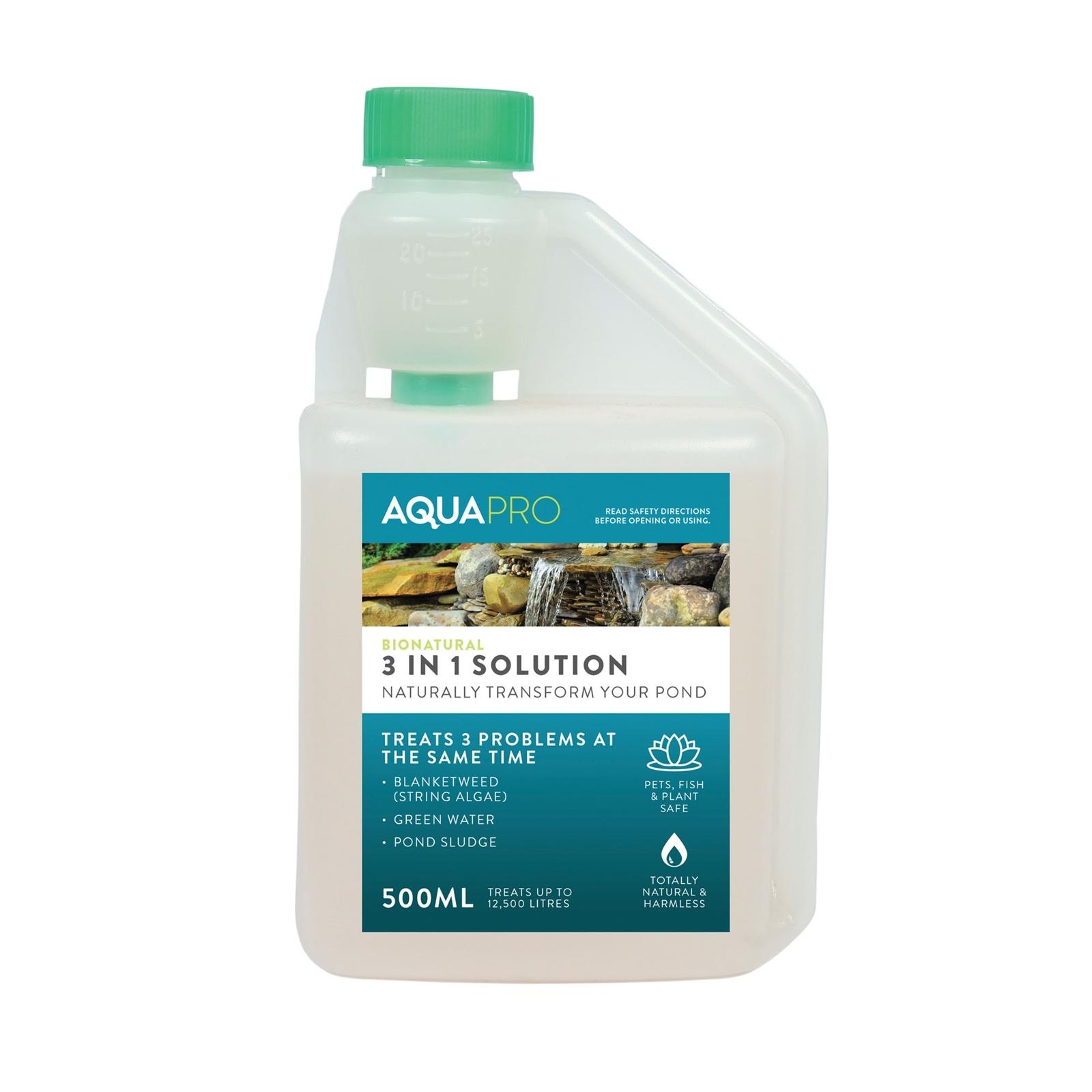 Aquapro 500ml Bionatural 3 In 1 Solution