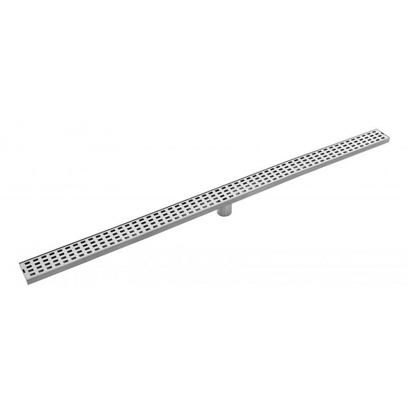 Rococo 1200mm Stainless Steel Rectangular Floor Grate