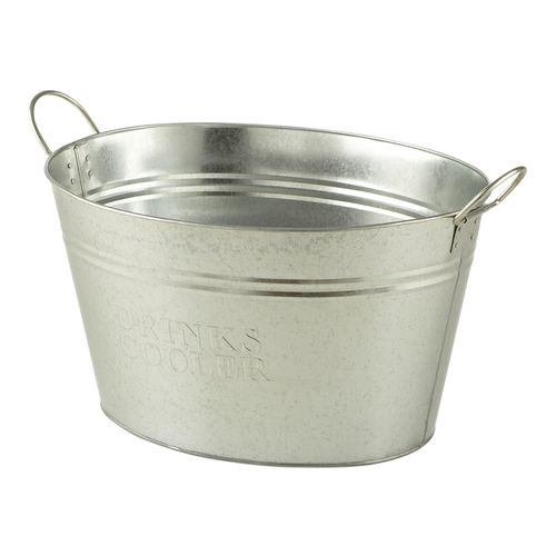 Marquee 30L Galvanised Drinks Cooler Ice Bucket