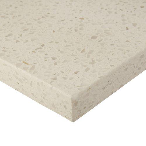 Essential Stone 20mm Savvy Stone Splashback - Whipped Cream
