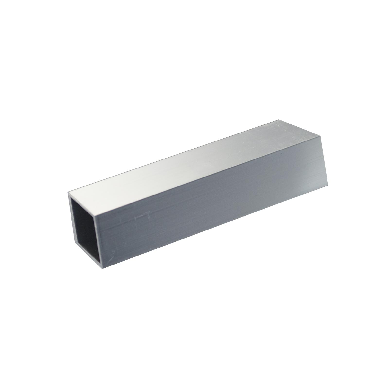 Metal Mate 25.4 x 25.4 x 1.2mm 1m Aluminium Square Box Tube