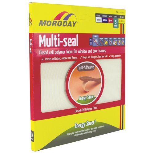 Moroday White Self Adhesive Weather Seal