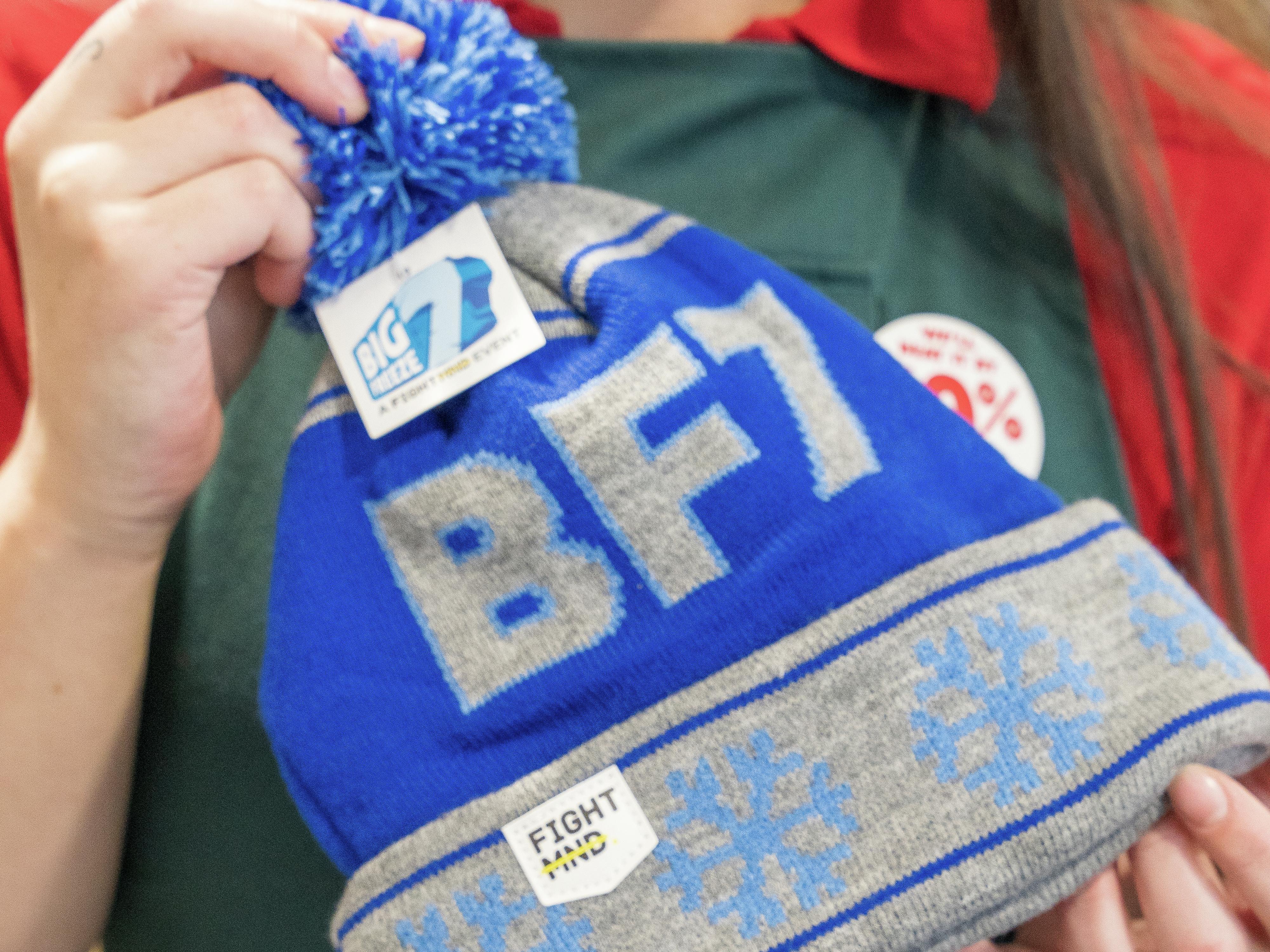 Fight MND big freeze beanie