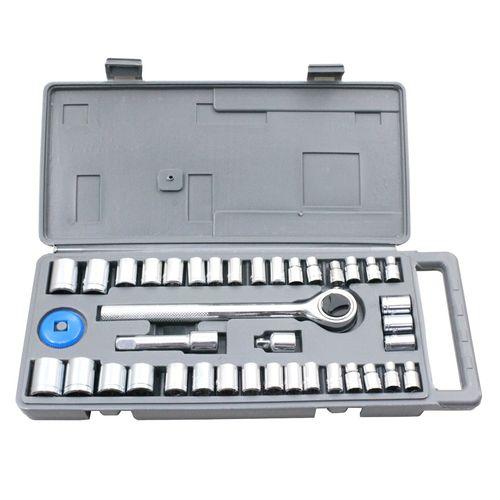 "Craftright 40 Piece Socket Set - 1/4"" & 3/8"" Drive"