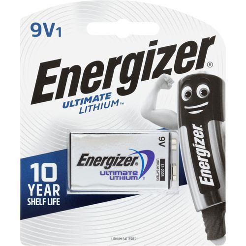 Energizer 9V Ultimate Lithium Battery