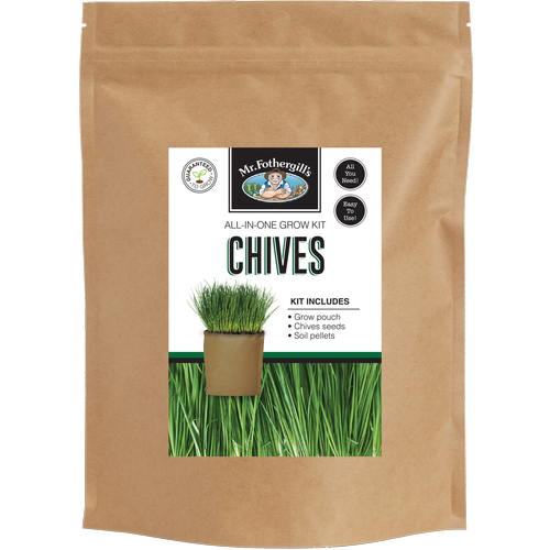 Mr Fothergill's Chives Grow Pouch Bag