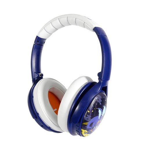 BuddyPhones Active Noise Cancellation Bluetooth Wireless Kids Headphones Dragon