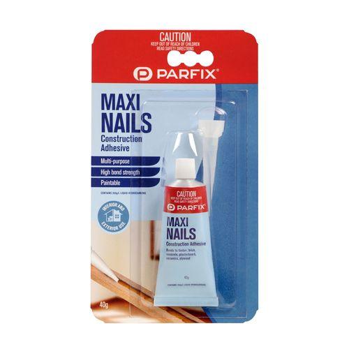 Parfix 40g Maxi Nails Construction Adhesive