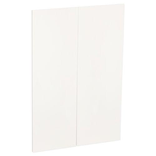 Kaboodle 900mm Feta Whip V Medium Modern Pantry Door - 2 Pack