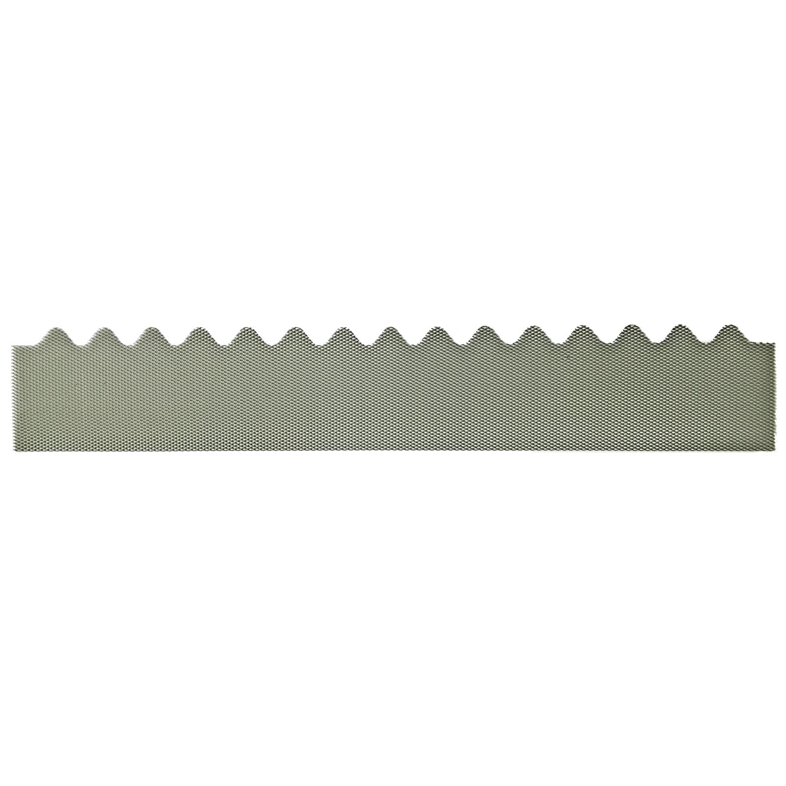 GumLeaf 1200mm Colorbond Metal Corrugated Gutter Guard - Terrain