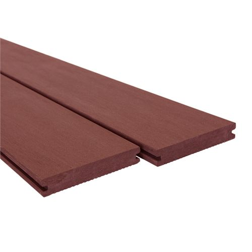Ekodeck Plus 137 x 23 x 5400mm Classic Red Rock Composite Decking