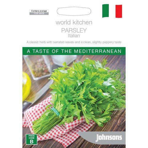 Johnsons World Kitchen Parsley Italian Seeds