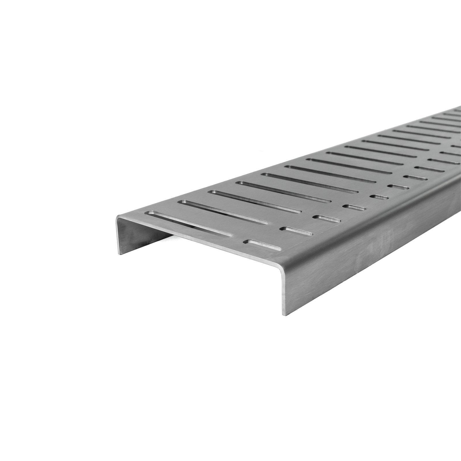 Grates 2 Go 1000mm Flow Pattern Shower Modular - Grate Only