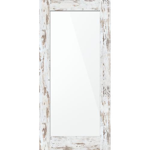 inBuilt 25 x 2100 x 1000mm Rustic Wood Shaker Single-Sided Mirror Barn Door