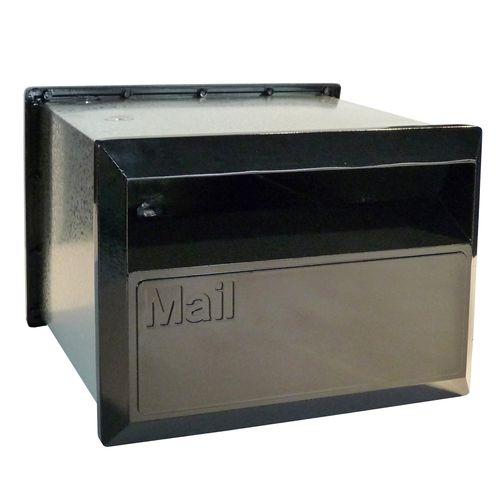 Velox 230mm Black Flexi Back Open Letterbox