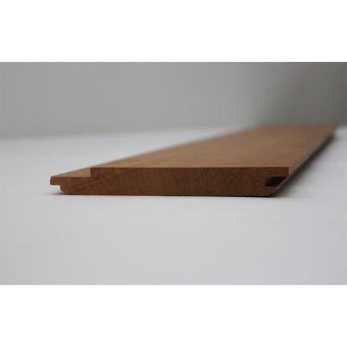 Cedar Sales 130 x 18mm Western Red Cedar Reversible Cladding - Linear Metre